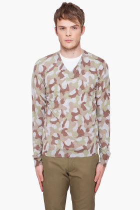 Comme des Garcons Army Fashion Wool Sweater