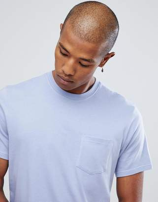Element Basic Pocket T-Shirt in Purple