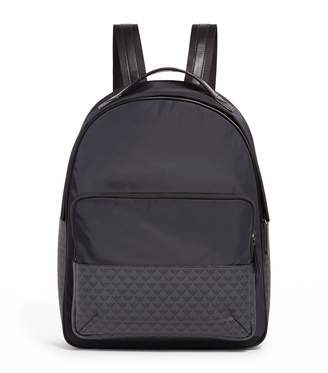 Emporio Armani Monogram Hybrid Backpack