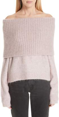 Acne Studios Off the Shoulder Sweater