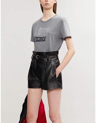Closed x Girbaud logo-print cotton-jersey T-shirt
