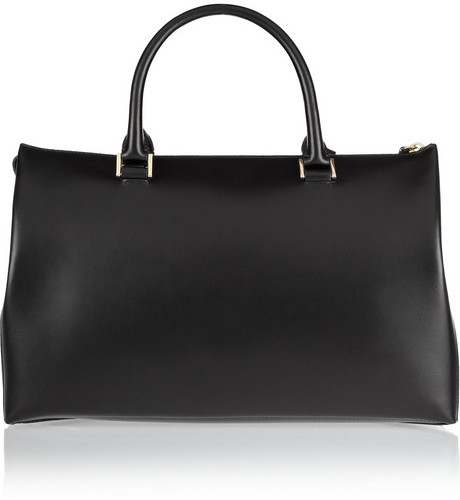 Jil Sander Medium leather tote