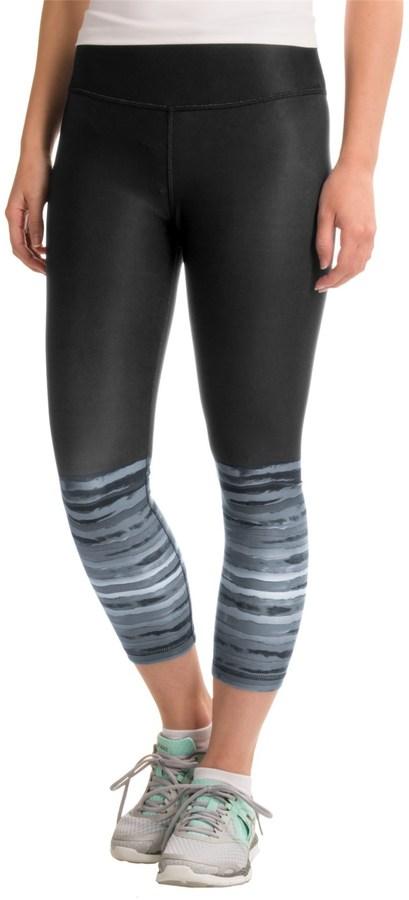 RBX Printed Capri Leggings (For Women)