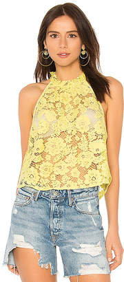 Free People Sweet Meadow Dreams Lace Top