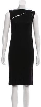 Bottega Veneta Ribbed Cutout Dress
