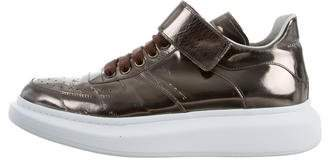 Alexander McQueen Larry Metallic Sneakers