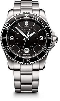 Victorinox Maverick Men's Watch Analogue Quartz Stainless Steel 241697