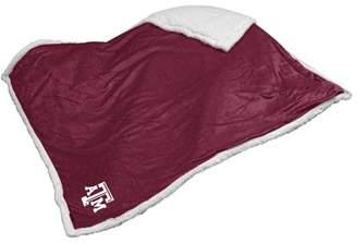 NCAA Logo Chair Texas A&M Sherpa Blanket