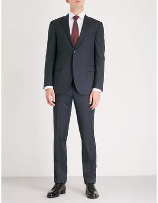 Corneliani Checked Academy-fit wool suit