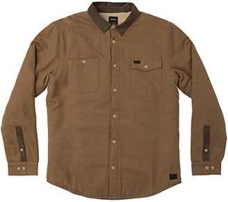 RVCA Men's Victory Long Sleeve Shirt Jacket