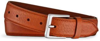 Shinola Men's Bombe Leather Tab Belt