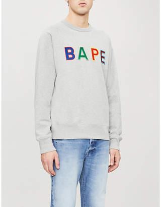 A Bathing Ape BAPE cotton-jersey sweatshirt