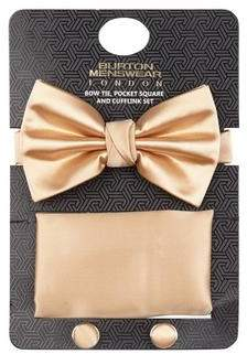 Burton Mens Gift Set Sateen Champagne