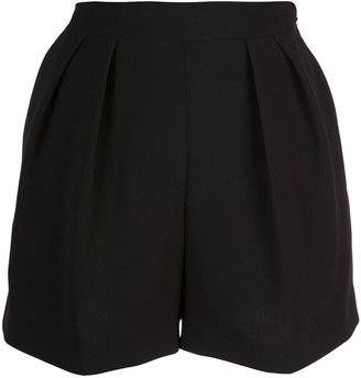 Theory loose shorts with front pleats