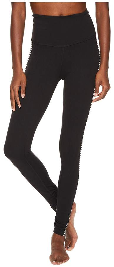 Kate Spade New York x Beyond Yoga - Tuxedo High Waist Leggings Women's Casual Pants