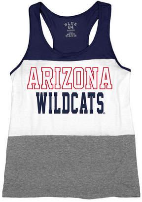 Blue 84 Women's Arizona Wildcats Racerback Panel Tank Top