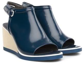 Camper 'Limi' Open Toe Leather Wedge Sandal (Women)
