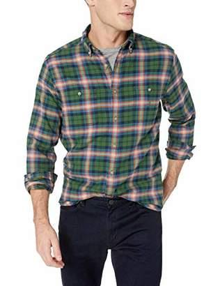 Nautica Men's Long Sleeve Plaid Flannel Classic Fit Button Down Shirt