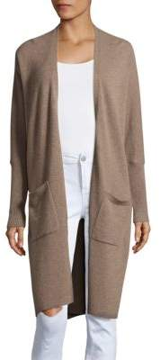Saks Fifth Avenue Cashmere Long-Sleeve Duster