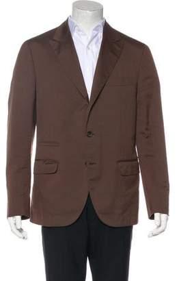 Brunello Cucinelli Virgin Wool & Silk-Blend Blazer