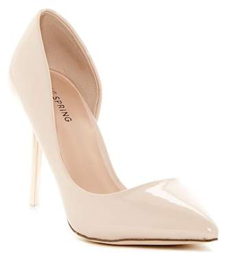 Call It Spring Thaoven Half d'Orsay Pump $49.99 thestylecure.com