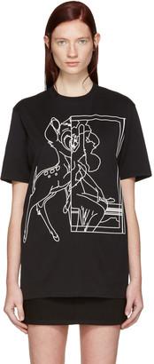 Givenchy Black Bambi T-Shirt $590 thestylecure.com