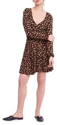 Free People Pradera Printed Mini Dress