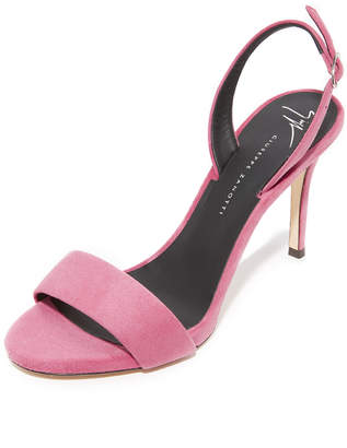 Giuseppe Zanotti Alien Sandals $625 thestylecure.com