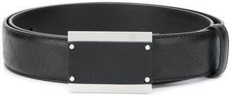 Versace embossed Grecca belt