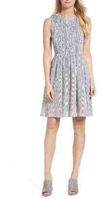 Women's French Connection Serge Smocked Dress $128 thestylecure.com