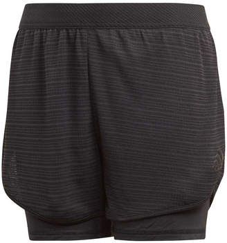 adidas Girls Climachill Training Shorts