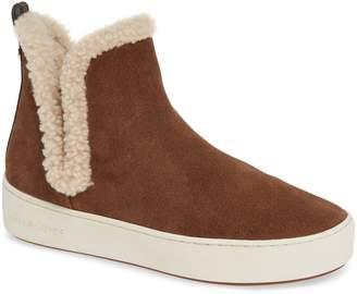 MICHAEL Michael Kors Ashlyn Genuine Shearling Lined Slip-On Sneaker