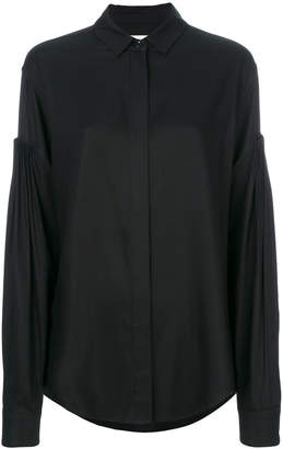 Saint Laurent drop shoulder shirt
