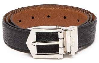 Givenchy Obsedia Reversible Leather Belt - Mens - Black Brown