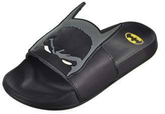 Batman Boys' Slide Sandals