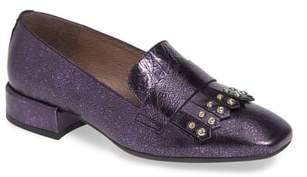 Wonders Low Heel Fringe Loafer