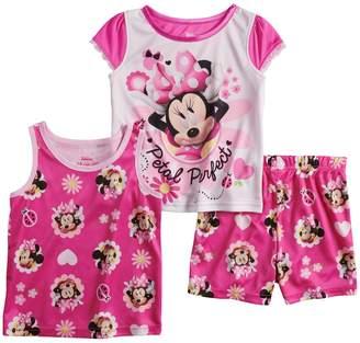 Disney Disney's Minnie Mouse Toddler Girl Tops & Shorts Pajama Set