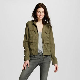 Mossimo Supply Co. Women's Utility Jacket - Mossimo Supply Co. (Juniors') $27.99 thestylecure.com