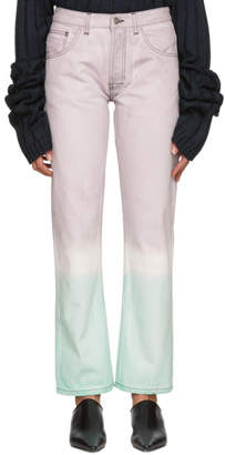 Loewe Multicolor Tie-Dye Jeans