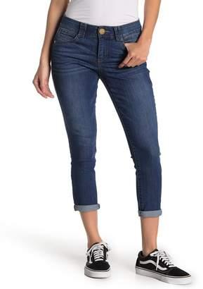 Democracy Cuffed Hem Cropped Jeans (Petite)