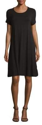 Lord & Taylor Petite Short Sleeve Swing Dress
