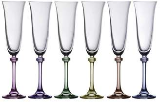 Galway Crystal Galway Living - Liberty Party Pack Of Six Flute Glasses