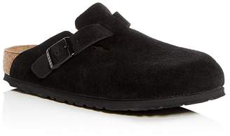 Birkenstock Women's Boston Suede Mules