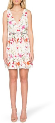 Women's Willow & Clay Floral Surplice Dress $119 thestylecure.com