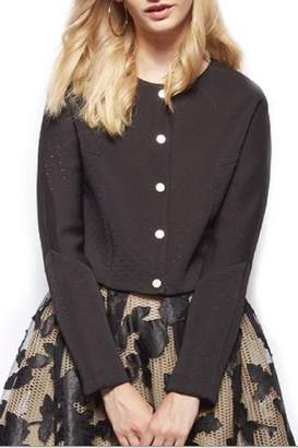 Gracia Black Cropped Jacket