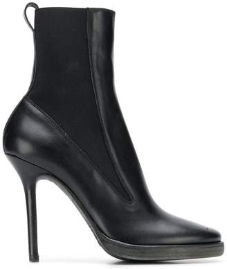 Haider Ackermann pointed toe ankle boots