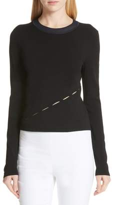 Rag & Bone Eden Slash Detail Top