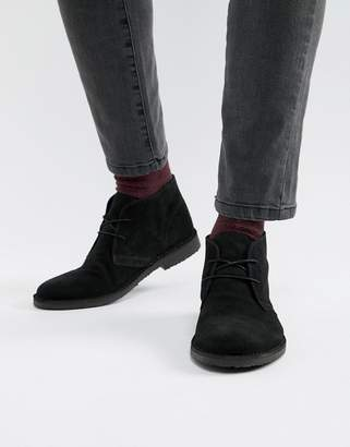 Office Fahrenheit boots in black suede