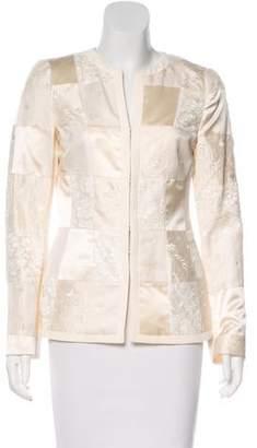 Rena Lange Silk-Blend Jacket