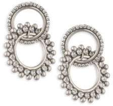 Dannijo Truby Double Hoop Earrings